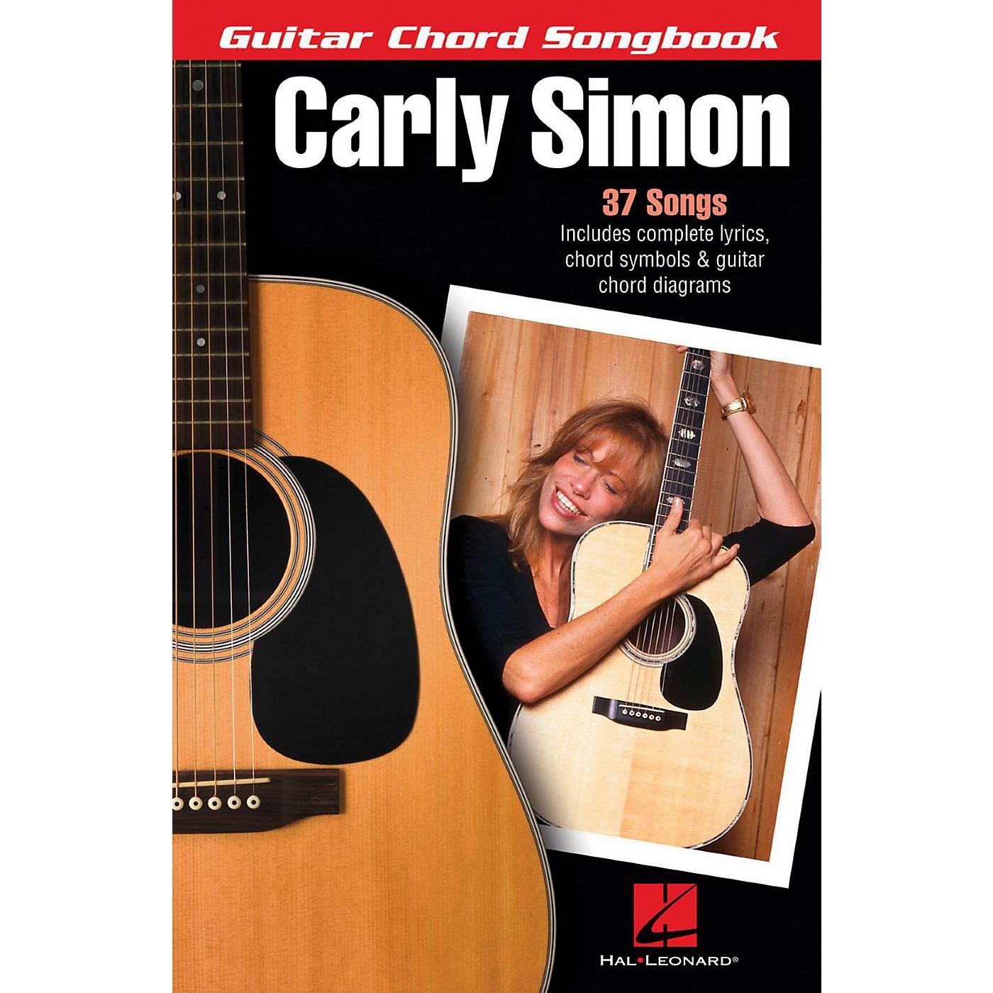 Hal Leonard Carly Simon - Guitar Chord Songbook thumbnail
