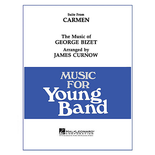 Hal Leonard Carmen, Suite From - Young Concert Band Level 3 arranged by James Curnow thumbnail