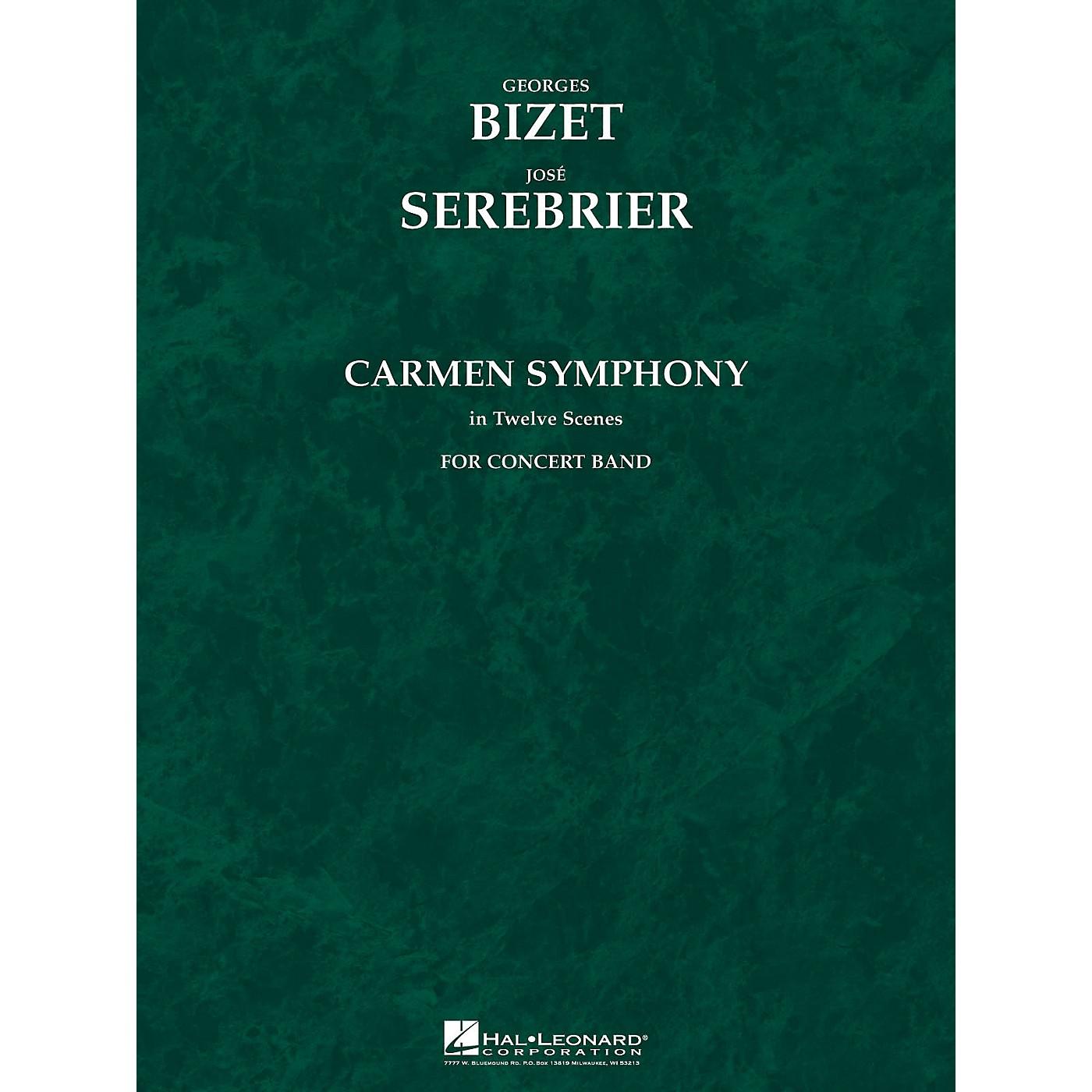 Hal Leonard Carmen Symphony (Score and Parts) Concert Band Level 5 Arranged by Jose Serebrier thumbnail