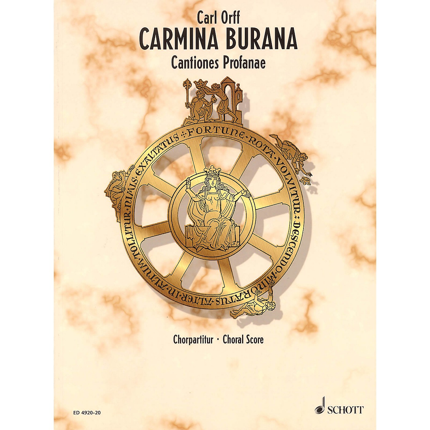Schott Carmina Burana (Choral Score) Composed by Carl Orff thumbnail