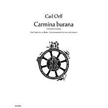 Schott Carmina Burana (Score) Schott Series Composed by Carl Orff Arranged by Friedrich K. Wanek