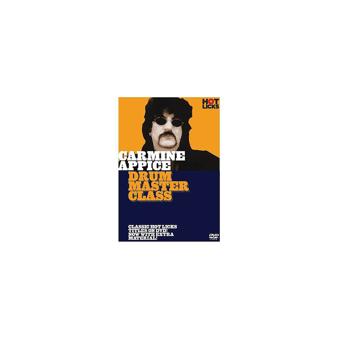 Music Sales Carmine Appice - Drum Master Class Music Sales America Series DVD Performed by Carmine Appice thumbnail