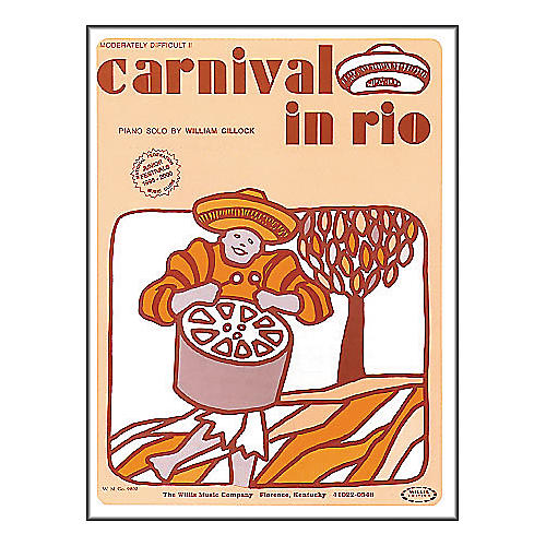 Willis Music Carnival In Rio Early Intermediate Piano Solo by William Gillock thumbnail