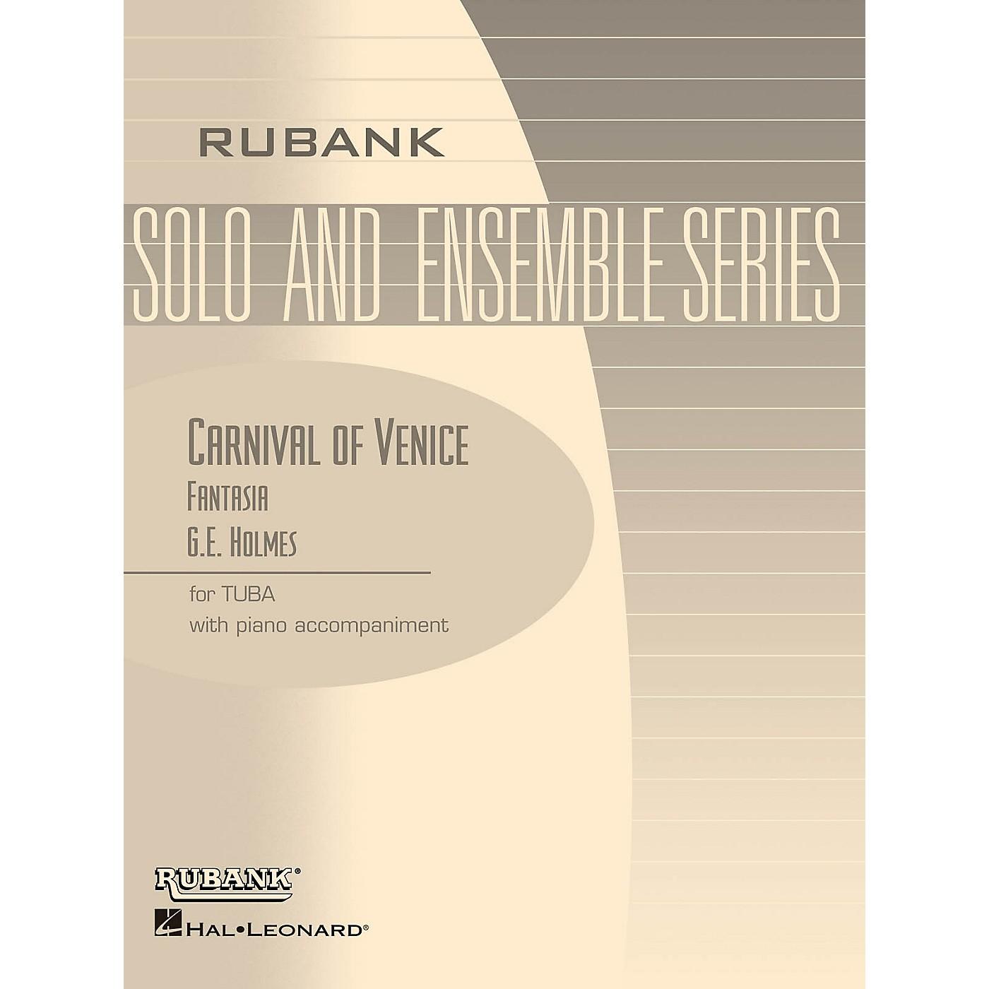 Rubank Publications Carnival of Venice (Fantasia) Rubank Solo/Ensemble Sheet Series Softcover thumbnail