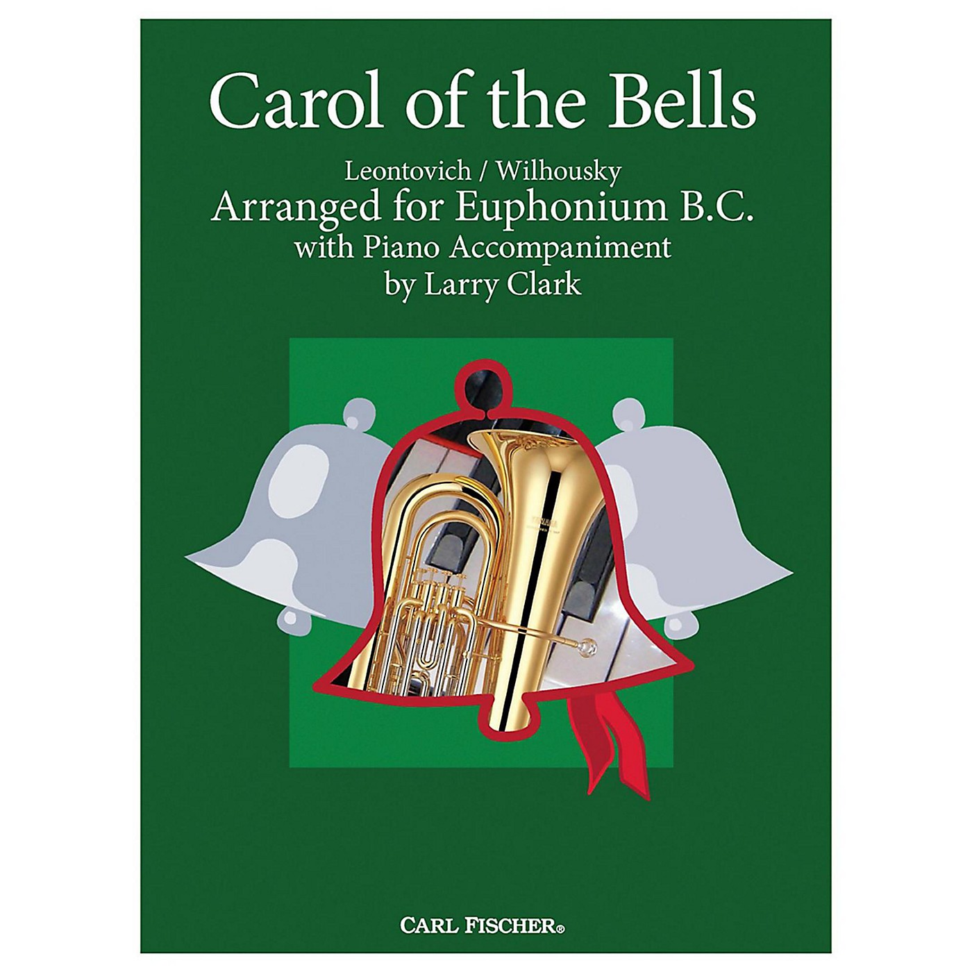 Carl Fischer Carol Of The Bells - Baritone B.C.With Piano Accompaniment thumbnail