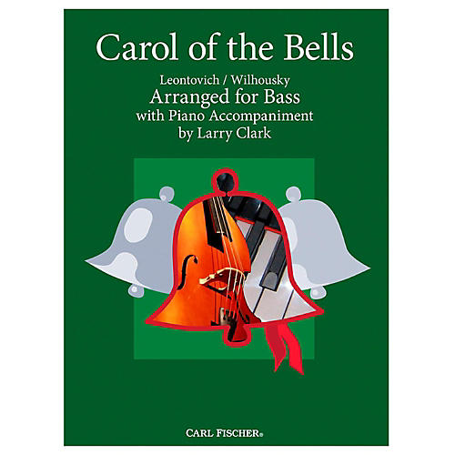 Carl Fischer Carol Of The Bells - Bass With Piano Accompaniment thumbnail