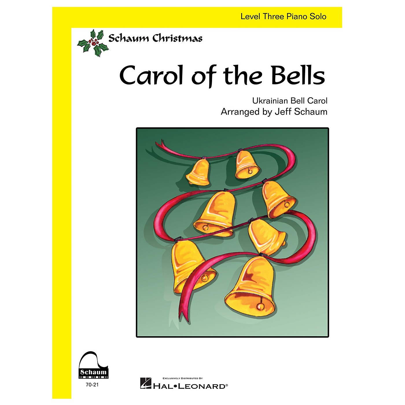 SCHAUM Carol Of The Bells (easy) Educational Piano Series Softcover thumbnail