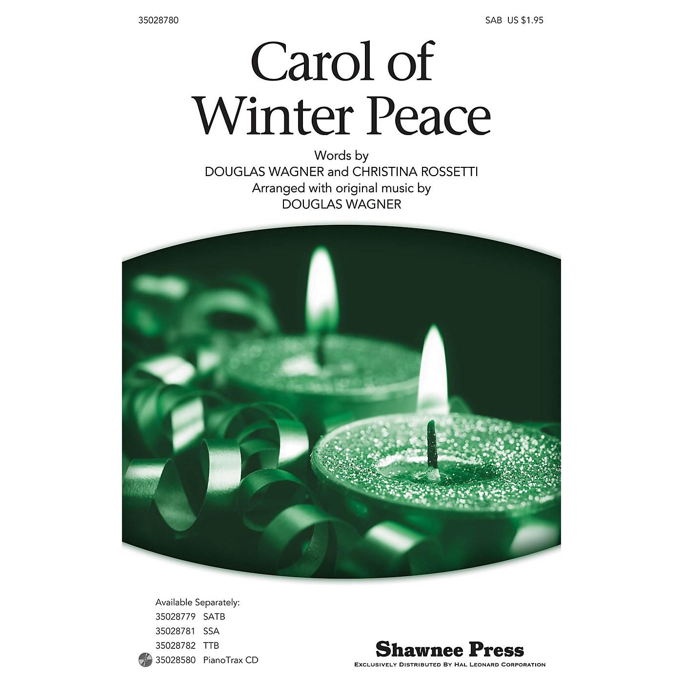 Shawnee Press Carol Of Winter Peace SAB arranged by Douglas Wagner thumbnail