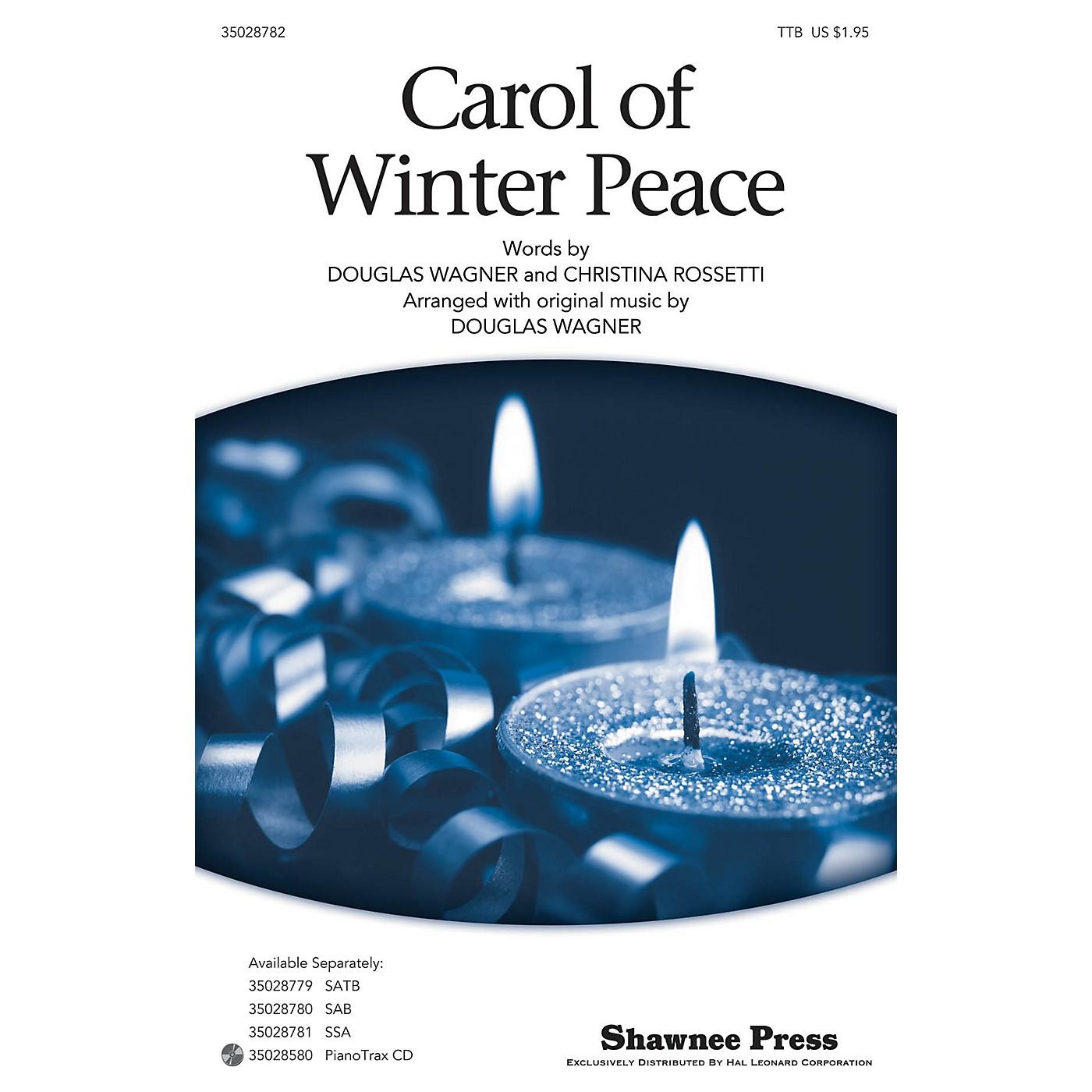 Shawnee Press Carol Of Winter Peace TTB arranged by Douglas Wagner thumbnail