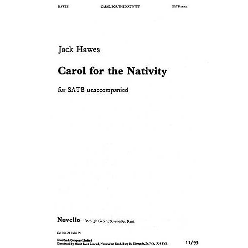 Novello Carol for the Nativity SATB Composed by Jack Hawes thumbnail