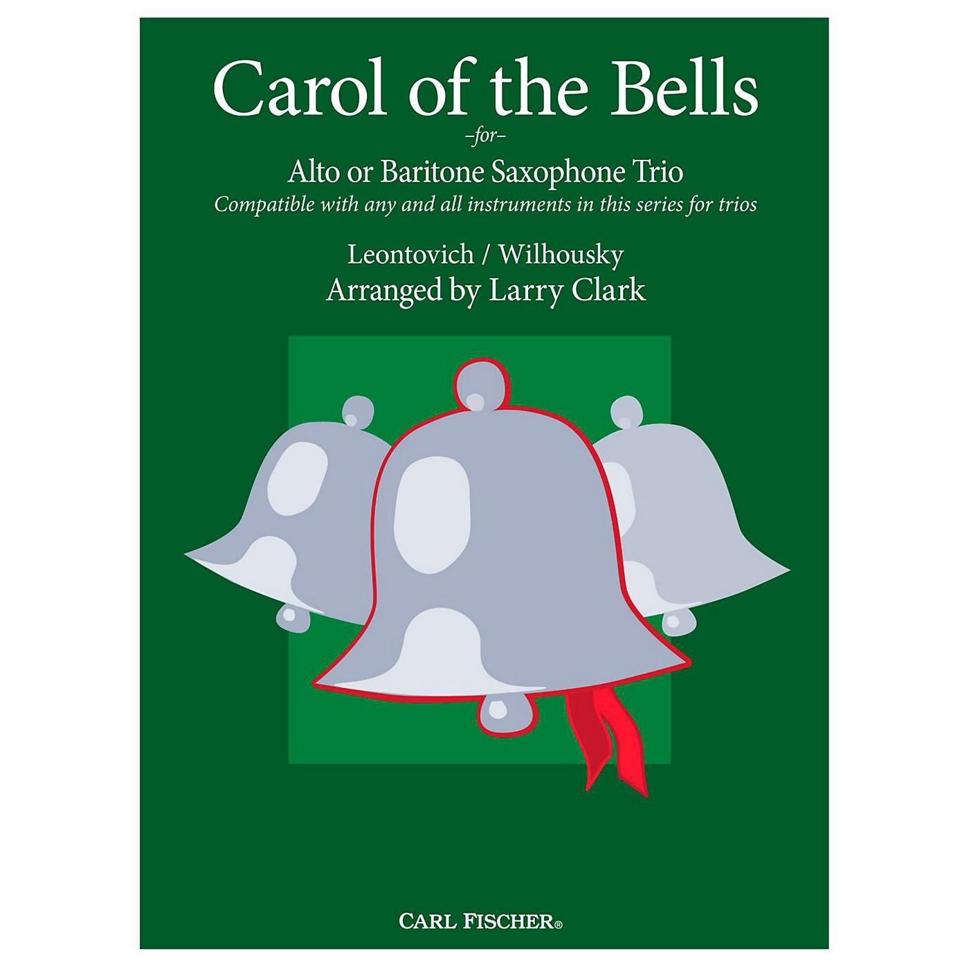 Carl Fischer Carol of the Bells Comp-AltSax thumbnail