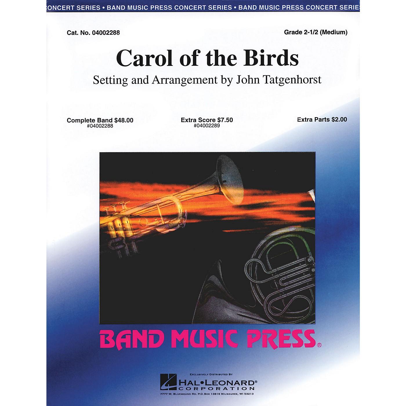 Band Music Press Carol of the Birds Concert Band Level 2.5 Arranged by John Tatgenhorst thumbnail