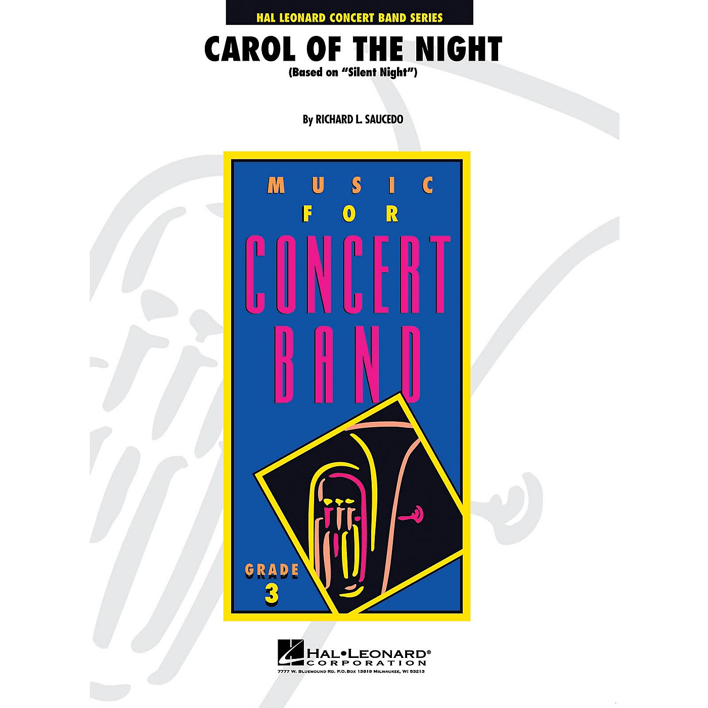 Hal Leonard Carol of the Night - Young Concert Band Series Level 3 arranged by Richard L. Saucedo thumbnail