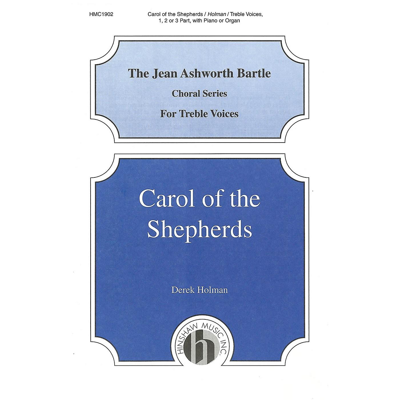 Hinshaw Music Carol of the Shepherds UNIS composed by Derek Holman thumbnail