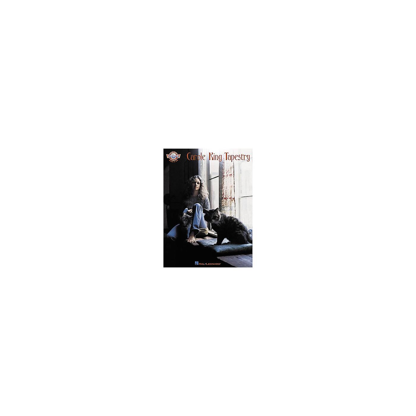 Hal Leonard Carole King - Tapestry Guitar Tab Songbook thumbnail