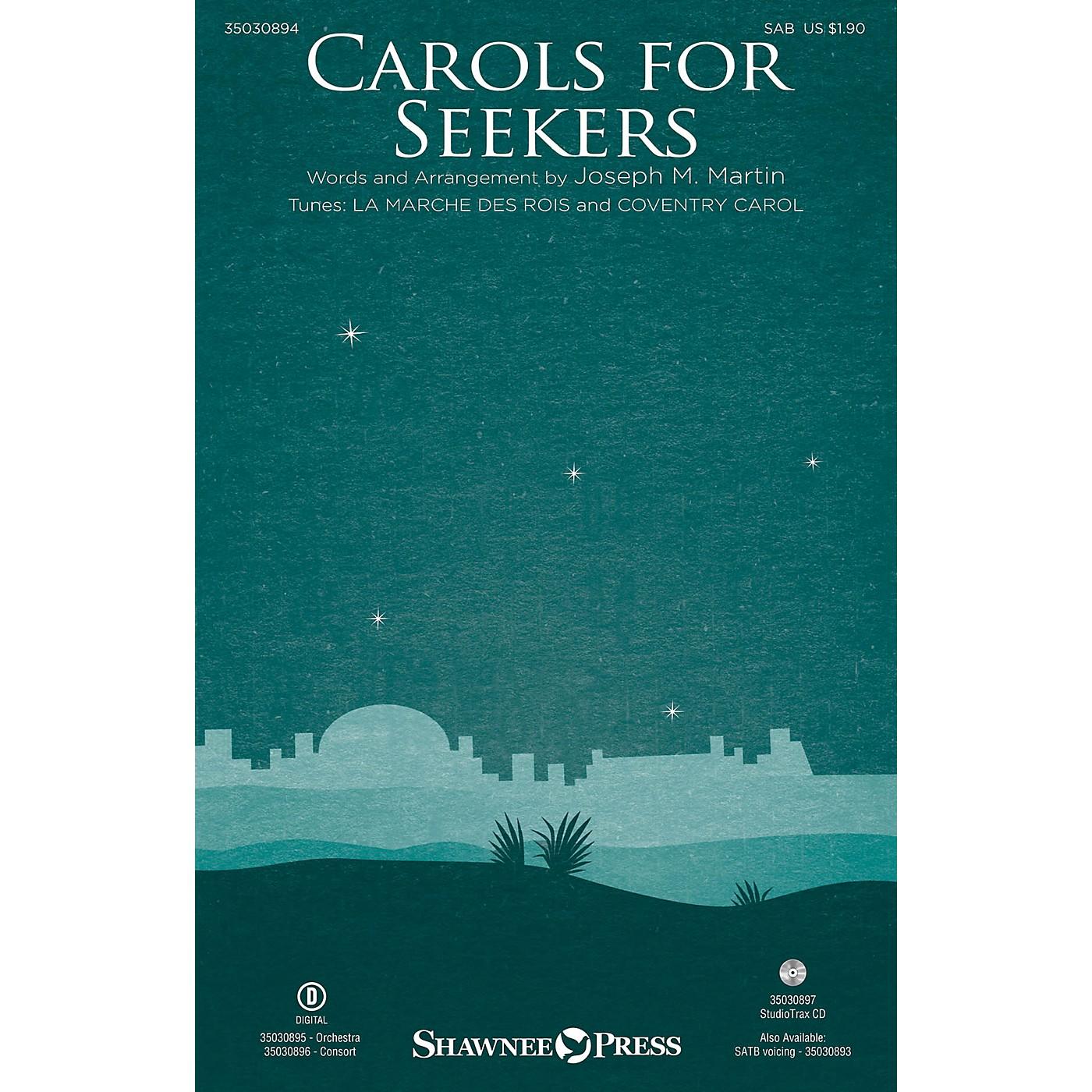 Shawnee Press Carols for Seekers SAB arranged by Joseph M. Martin thumbnail