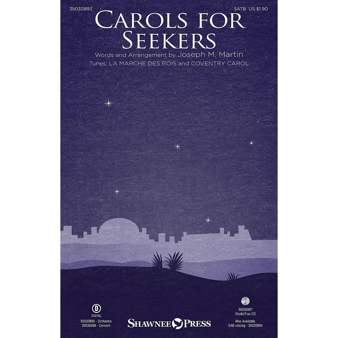 Shawnee Press Carols for Seekers Studiotrax CD Arranged by Joseph M. Martin thumbnail