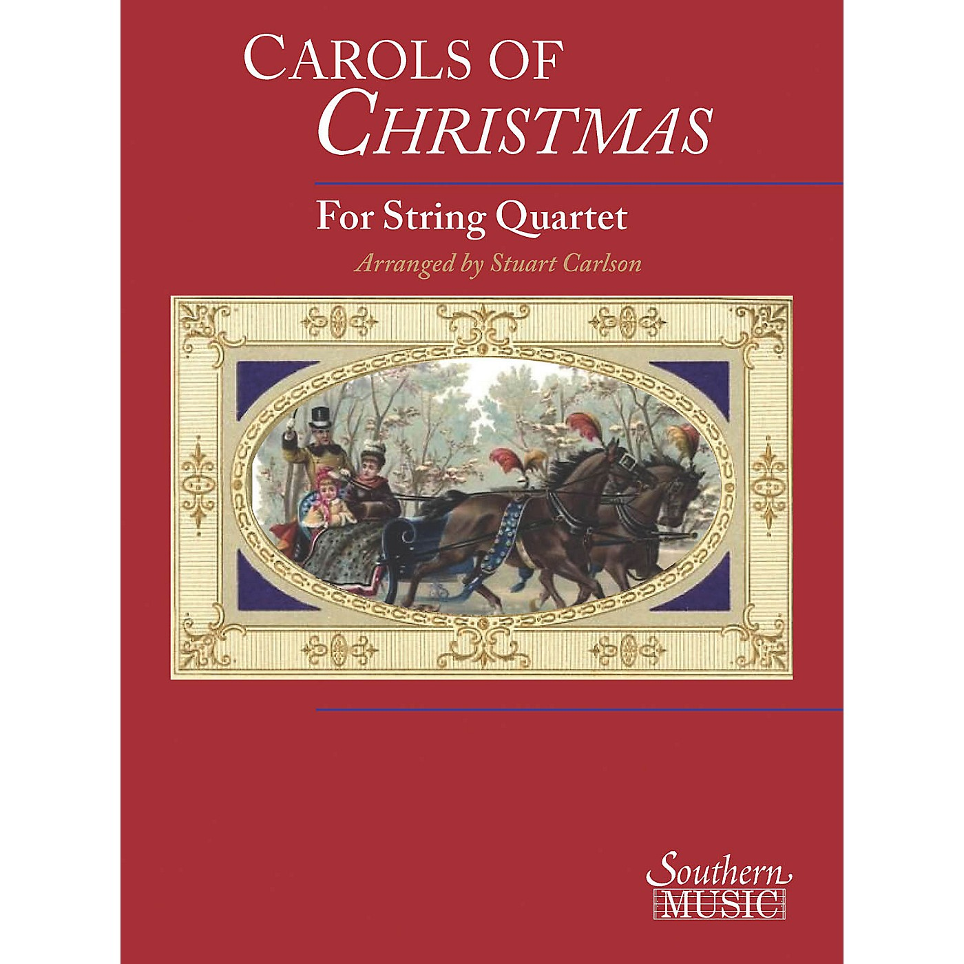Southern Carols of Christmas for String Quartet Southern Music Series thumbnail