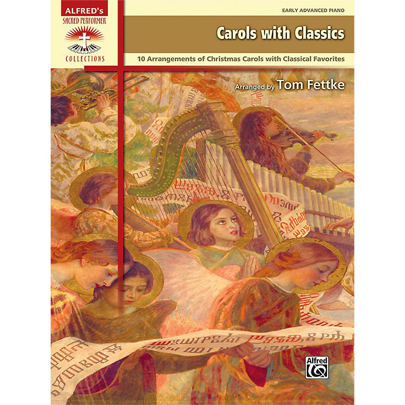 Alfred Carols with Classics Early Advanced Piano Book thumbnail