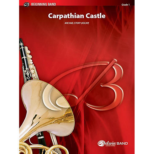 Alfred Carpathian Castle Concert Band Grade 1 Set thumbnail
