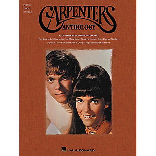 Hal Leonard Carpenters Anthology Piano, Vocal, Guitar Songbook thumbnail