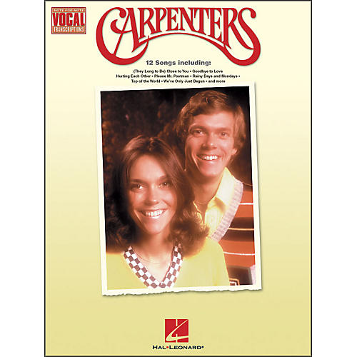 Hal Leonard Carpenters Note-for-Note Vocal Transcriptions thumbnail