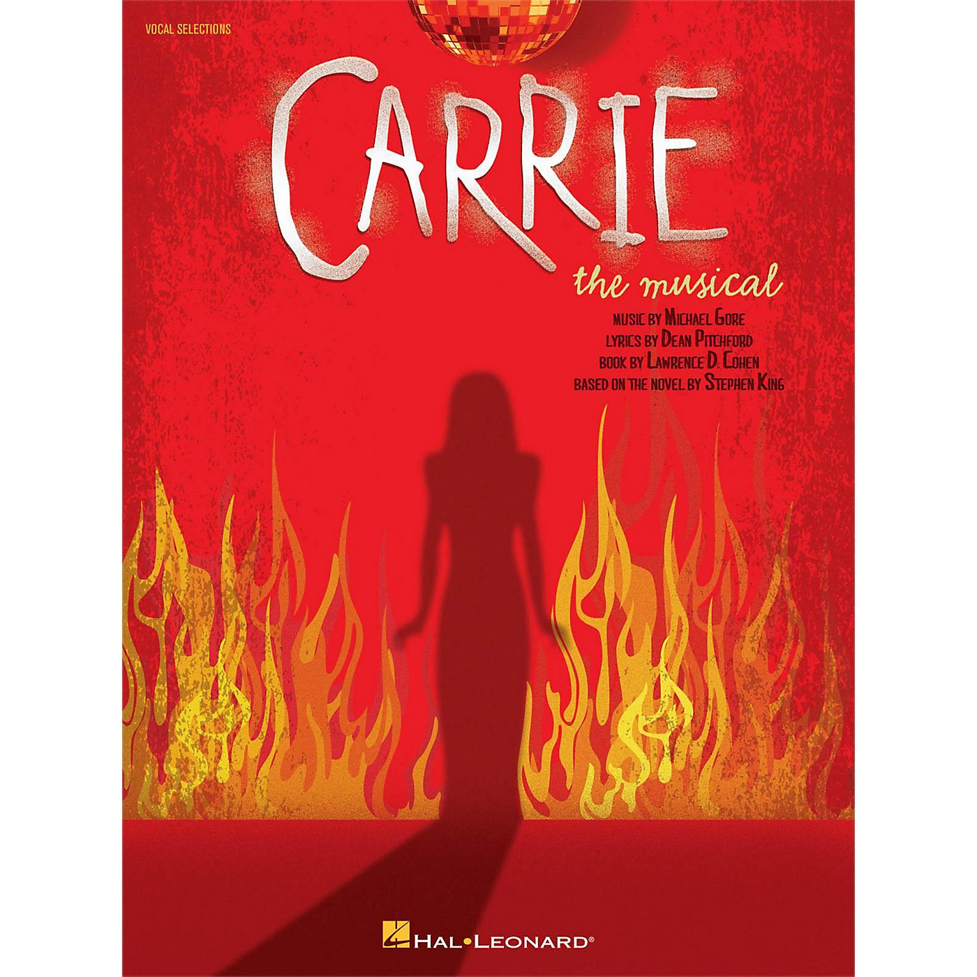 Hal Leonard Carrie The Musical Piano/Vocal Selections thumbnail