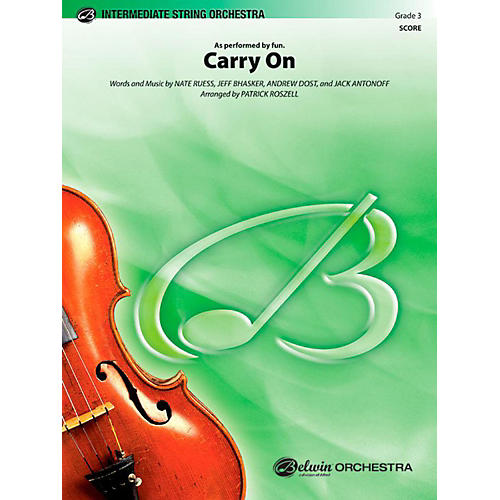Alfred Carry On String Orchestra Level 3 Set thumbnail