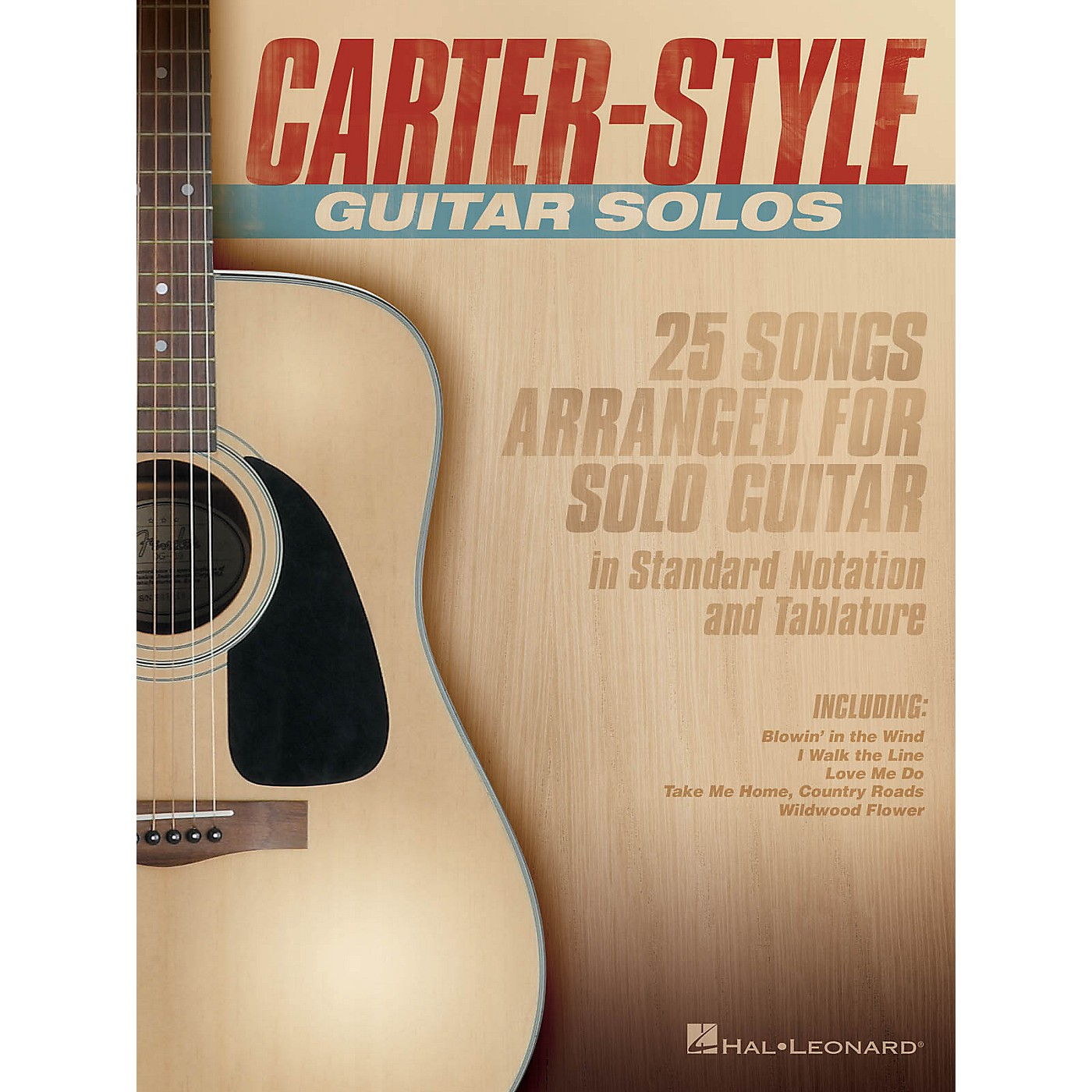 Hal Leonard Carter-Style Guitar Solos Guitar Collection Series Softcover Performed by Carter Family thumbnail
