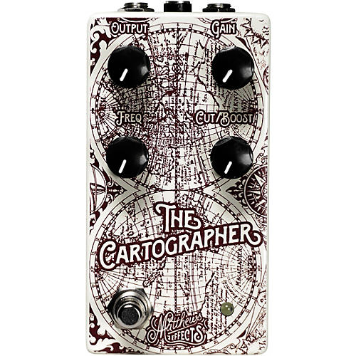 Matthews Effects Cartographer Parametric Overdrive Effects Pedal thumbnail