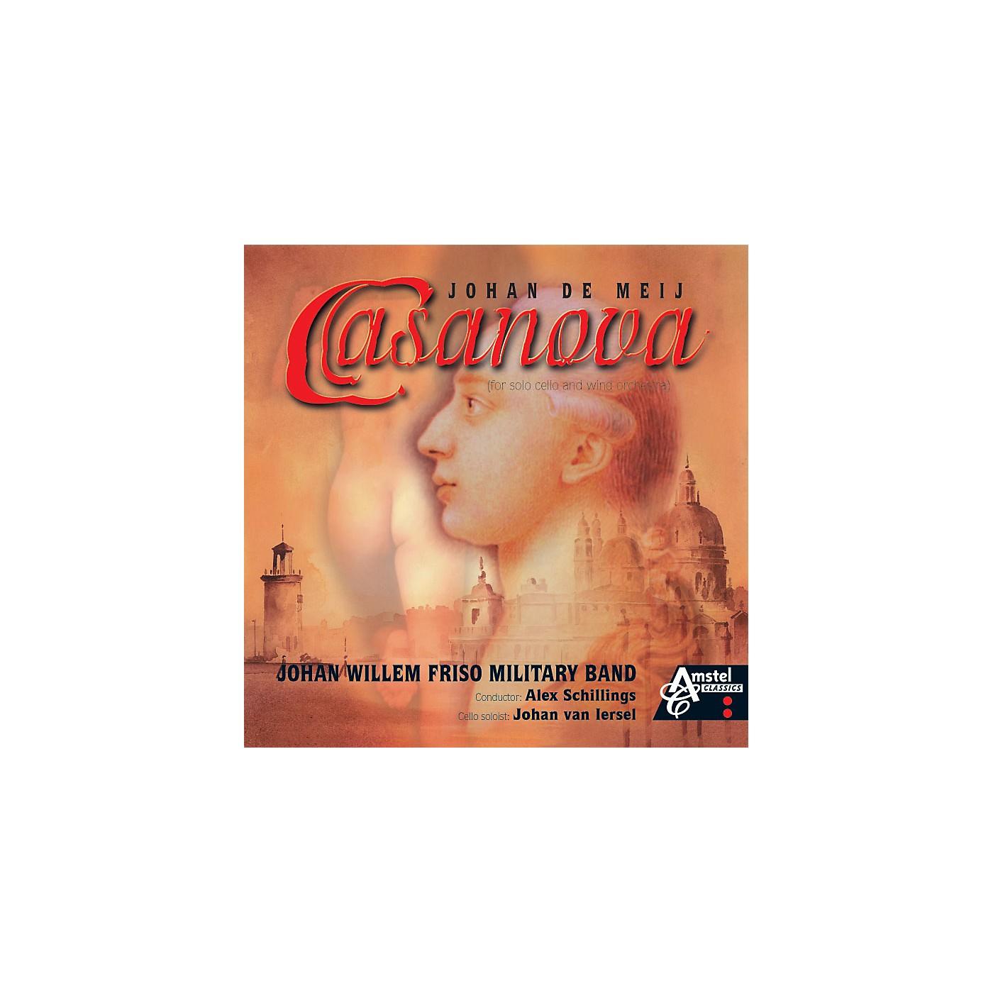 Amstel Music Casanova (Amstel Classics CD) Concert Band Level 4-5 Composed by Johan de Meij thumbnail
