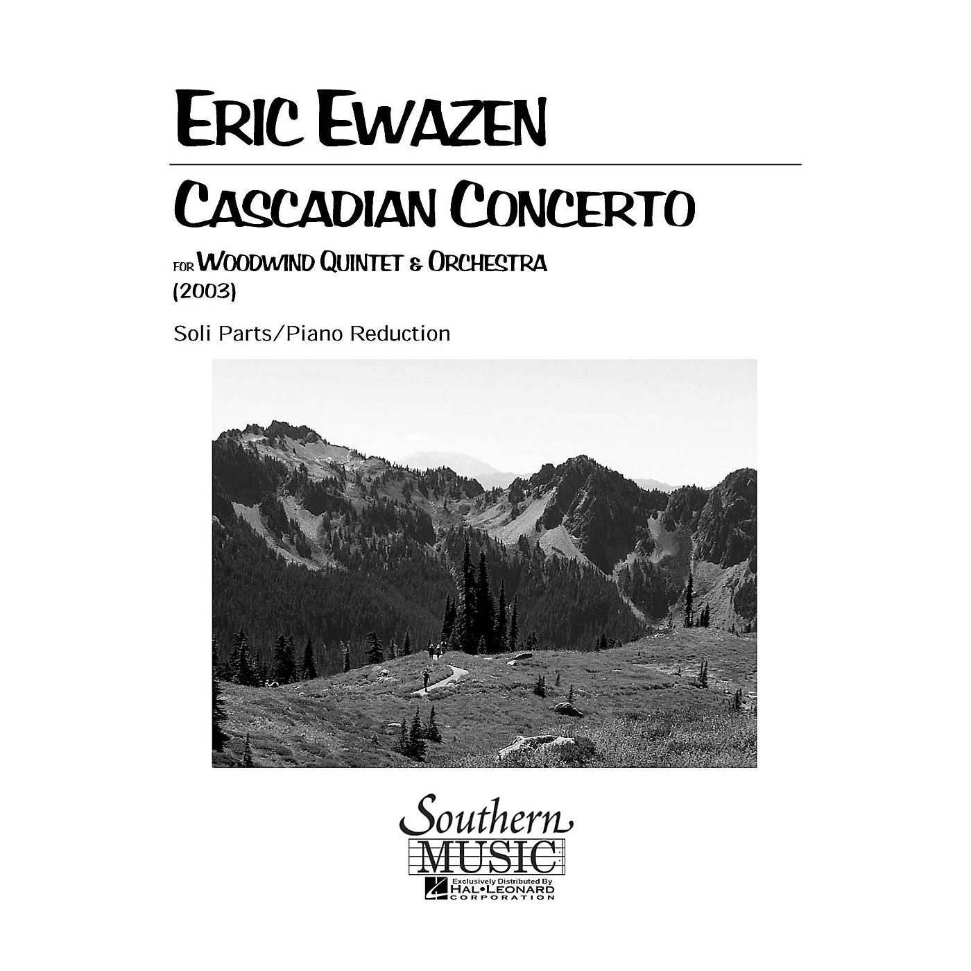 Southern Cascadian Concerto (Woodwind Quintet) Southern Music Series by Eric Ewazen thumbnail