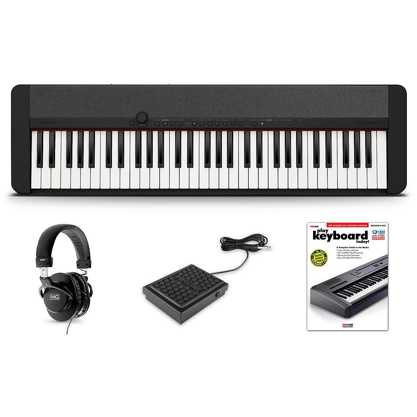 Casio Casiotone CT-S1 Keyboard Essentials Kit thumbnail