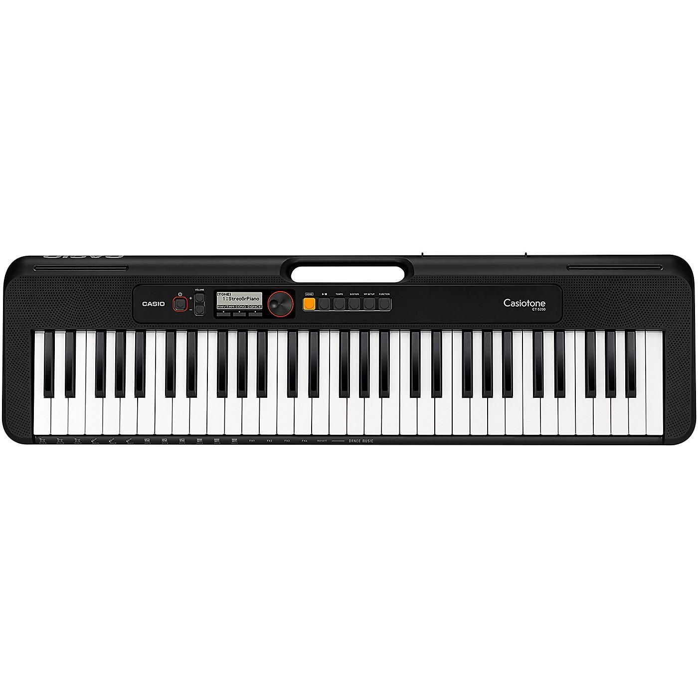 Casio Casiotone CT-S200 61-Key Digital Keyboard thumbnail