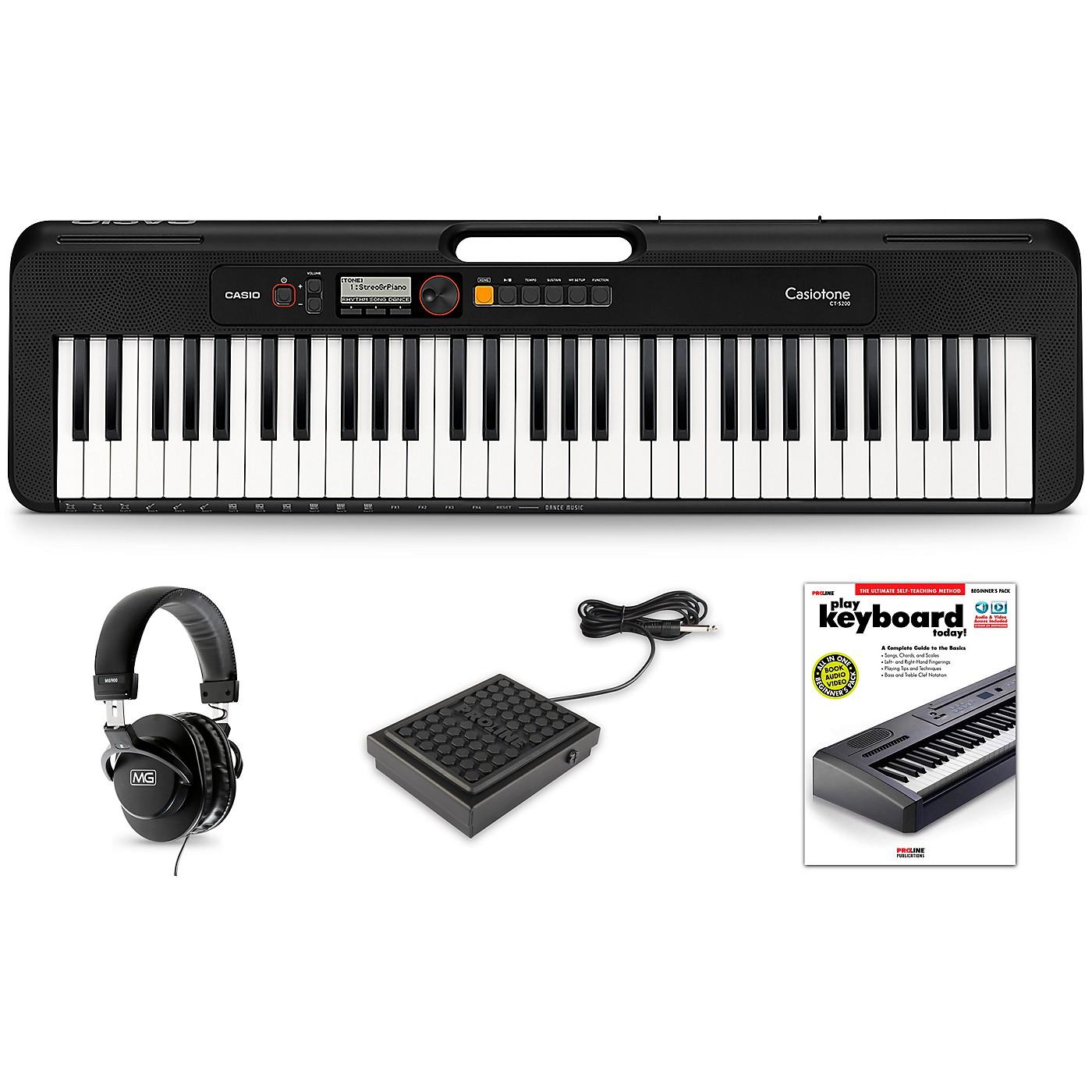 Casio Casiotone CT-S200 Keyboard Essentials Kit thumbnail