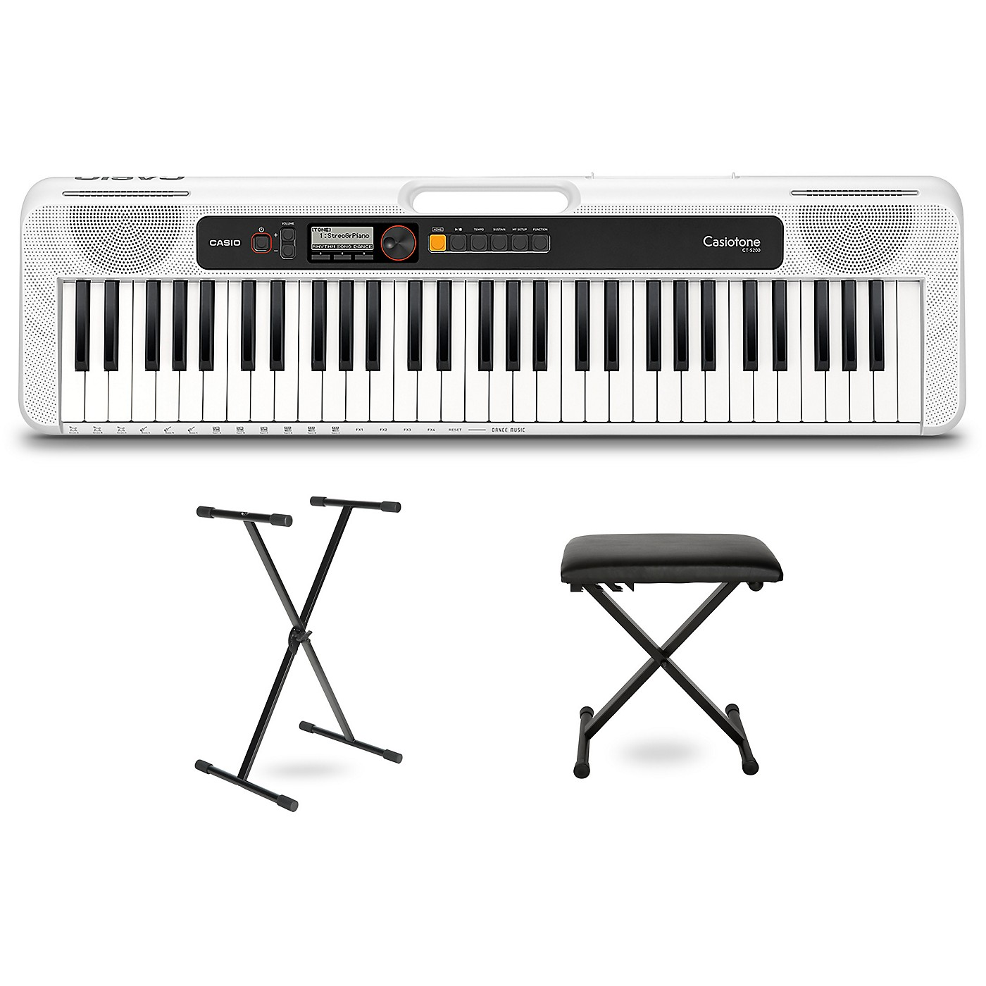 Casio Casiotone CT-S200 Keyboard with Stand and Bench thumbnail
