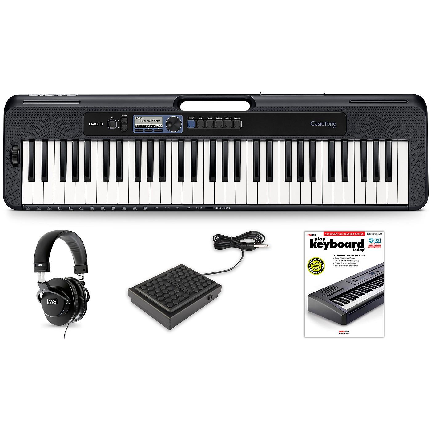 Casio Casiotone CT-S300 Keyboard Essentials Kit thumbnail