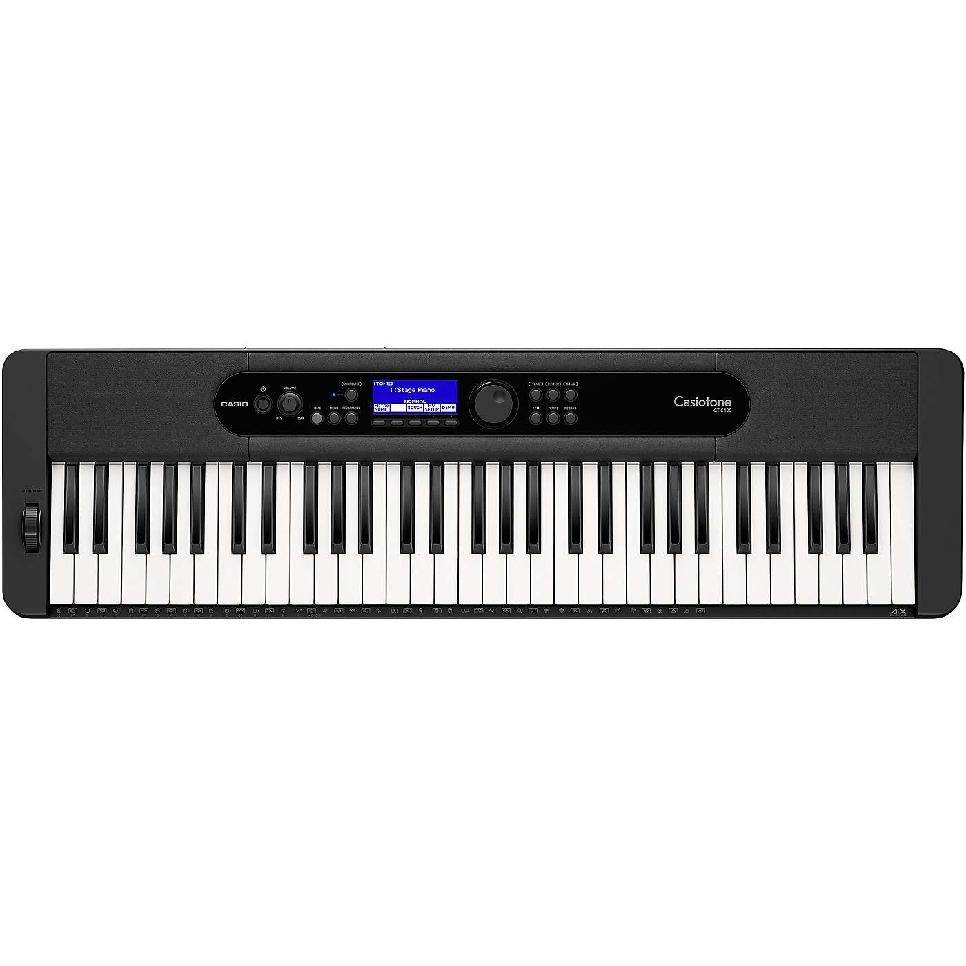 Casio Casiotone CT-S400 61-Key Portable Keyboard thumbnail