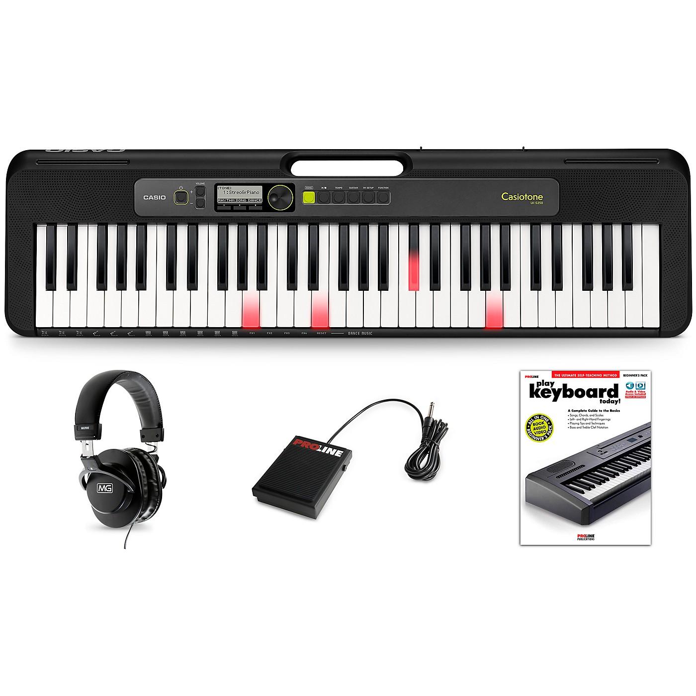 Casio Casiotone LK-S250 Keyboard Essentials Kit thumbnail