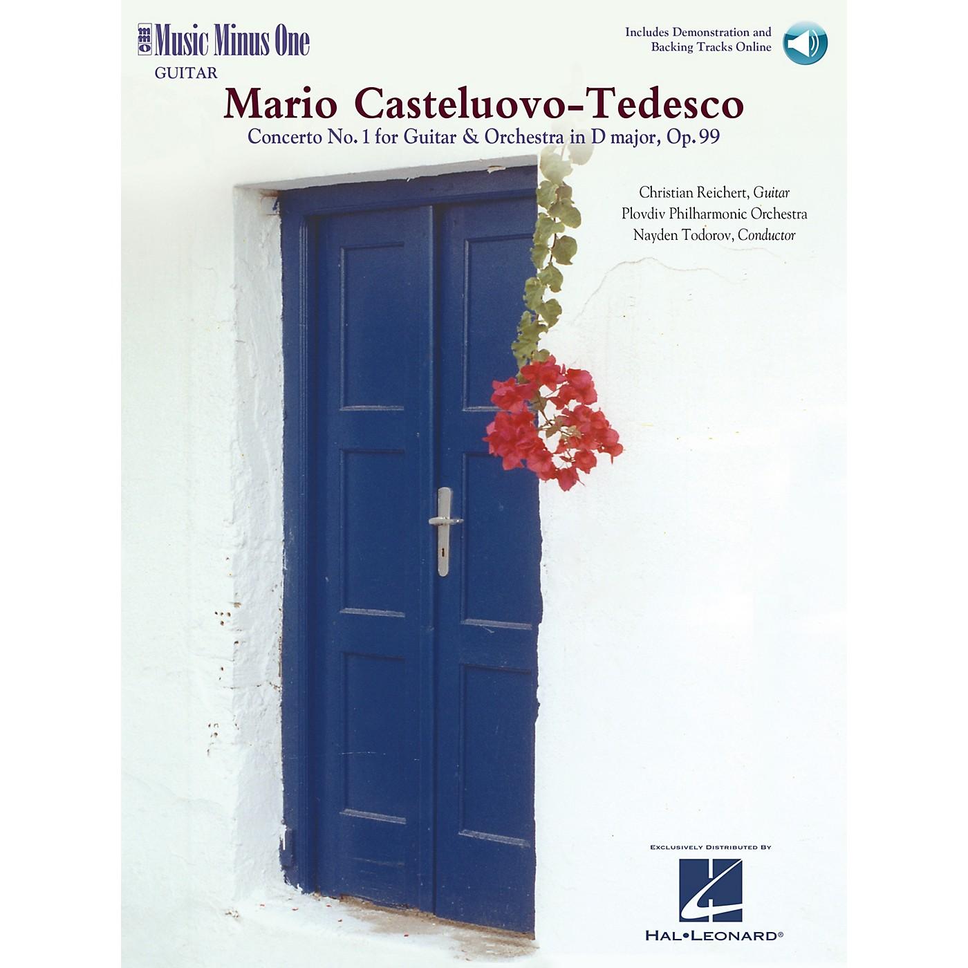 Music Minus One Castelnuovo-Tedesco - Guitar Concerto No. 1 in D Major Op. 99 Music Minus One BK/CD by Christian Reichert thumbnail