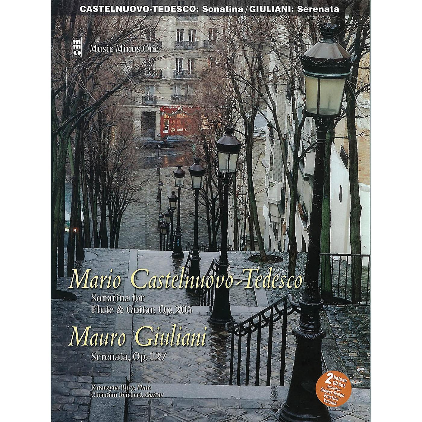 Music Minus One Castelnuovo-Tedesco: Sonatina & Giulini: Serenata Op. 127 for Guitar and Flute Music Minus One BK/CD thumbnail