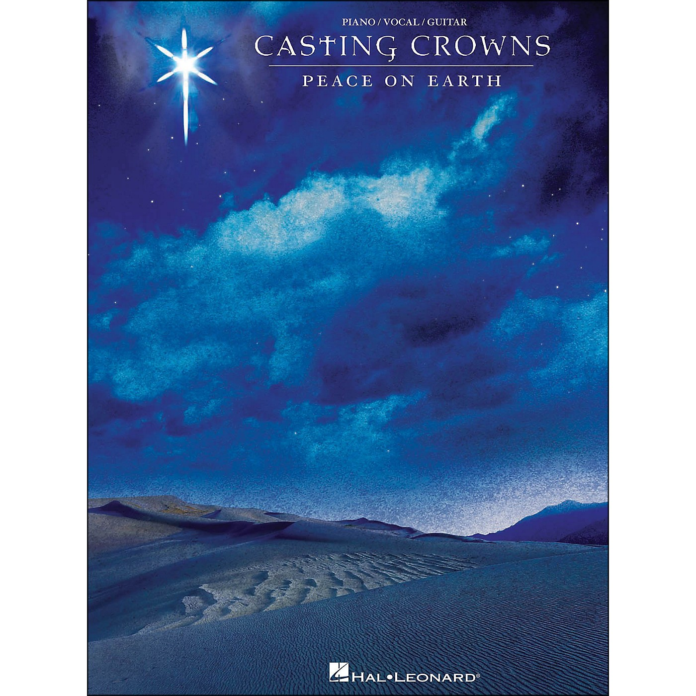Hal Leonard Casting Crowns Peace On Earth arranged for piano, vocal, and guitar (P/V/G) thumbnail
