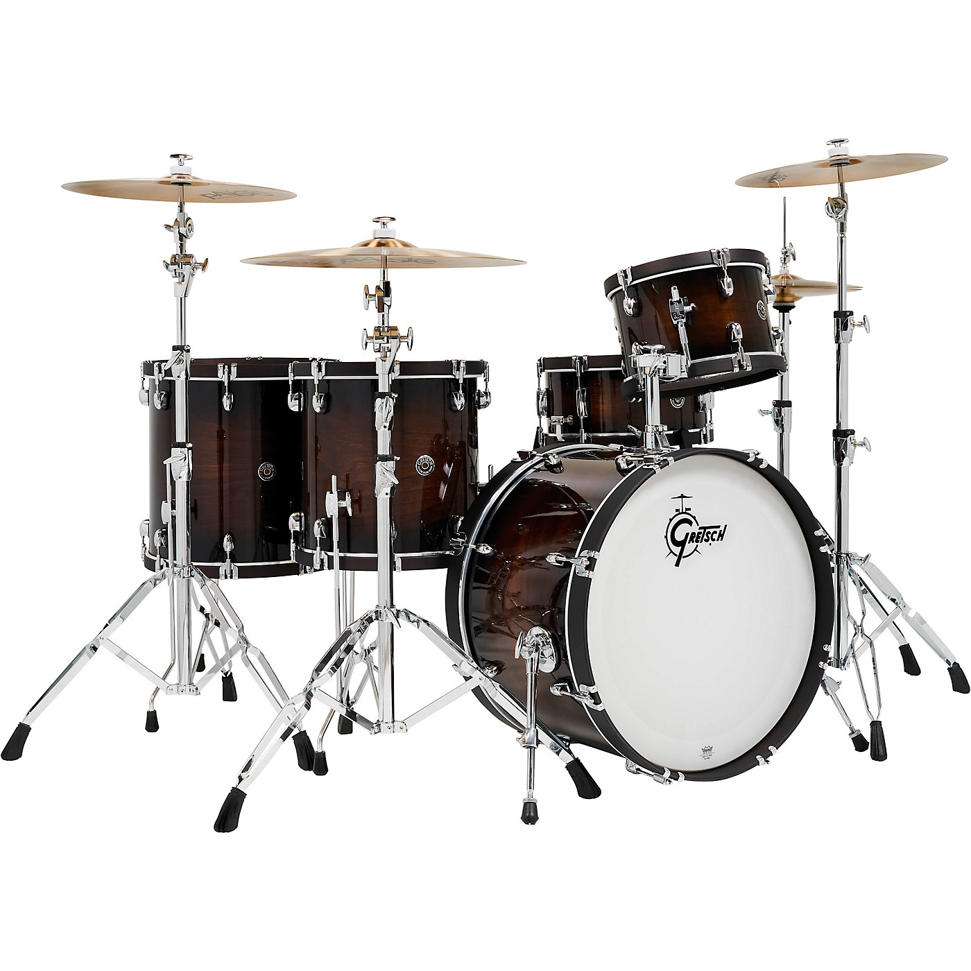 Gretsch Drums Catalina Special Edition Walnut/Maple 5-Piece Shell Pack with Wood Hoops and 22 in. Bass Drum thumbnail