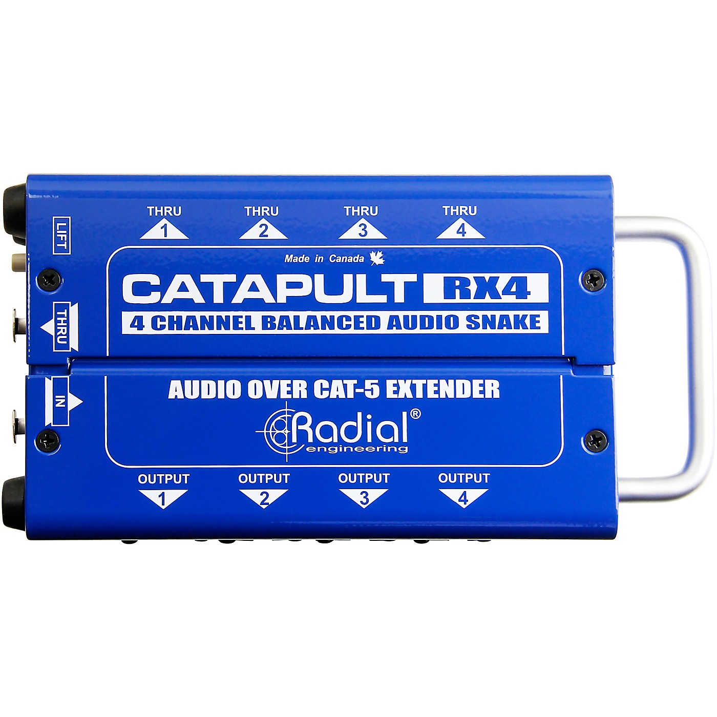 Radial Engineering Catapult 4-channel Cat 5 Audio Snake (RX4 Receiver Module) thumbnail