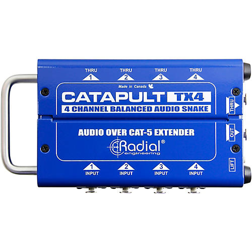 Radial Engineering Catapult 4-channel Cat 5 Audio Snake (TX4 Transmitter Module) thumbnail