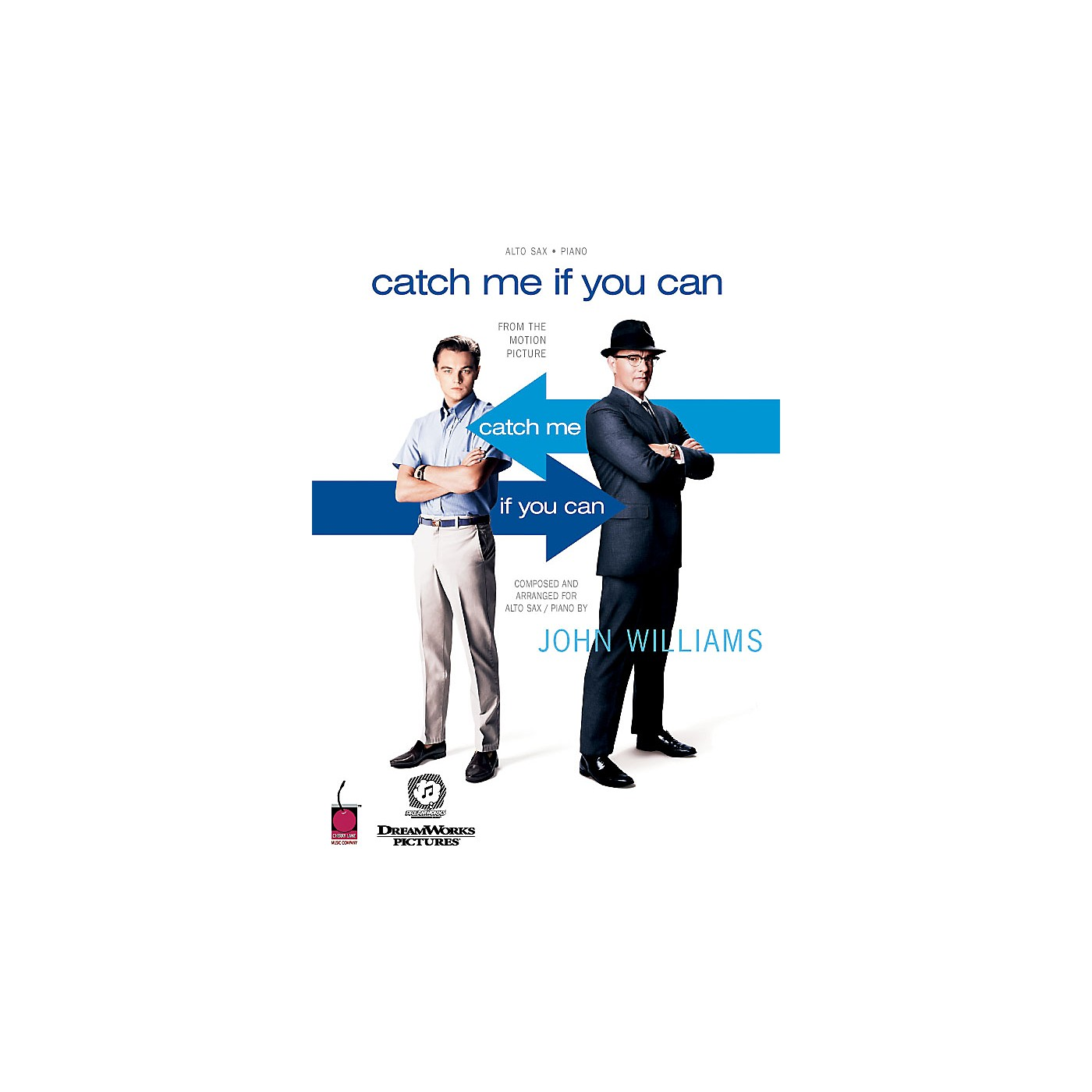 Cherry Lane Catch Me If You Can (Feature for Alto Sax and Concert Band) Concert Band Level 5 Arranged by Jay Bocook thumbnail