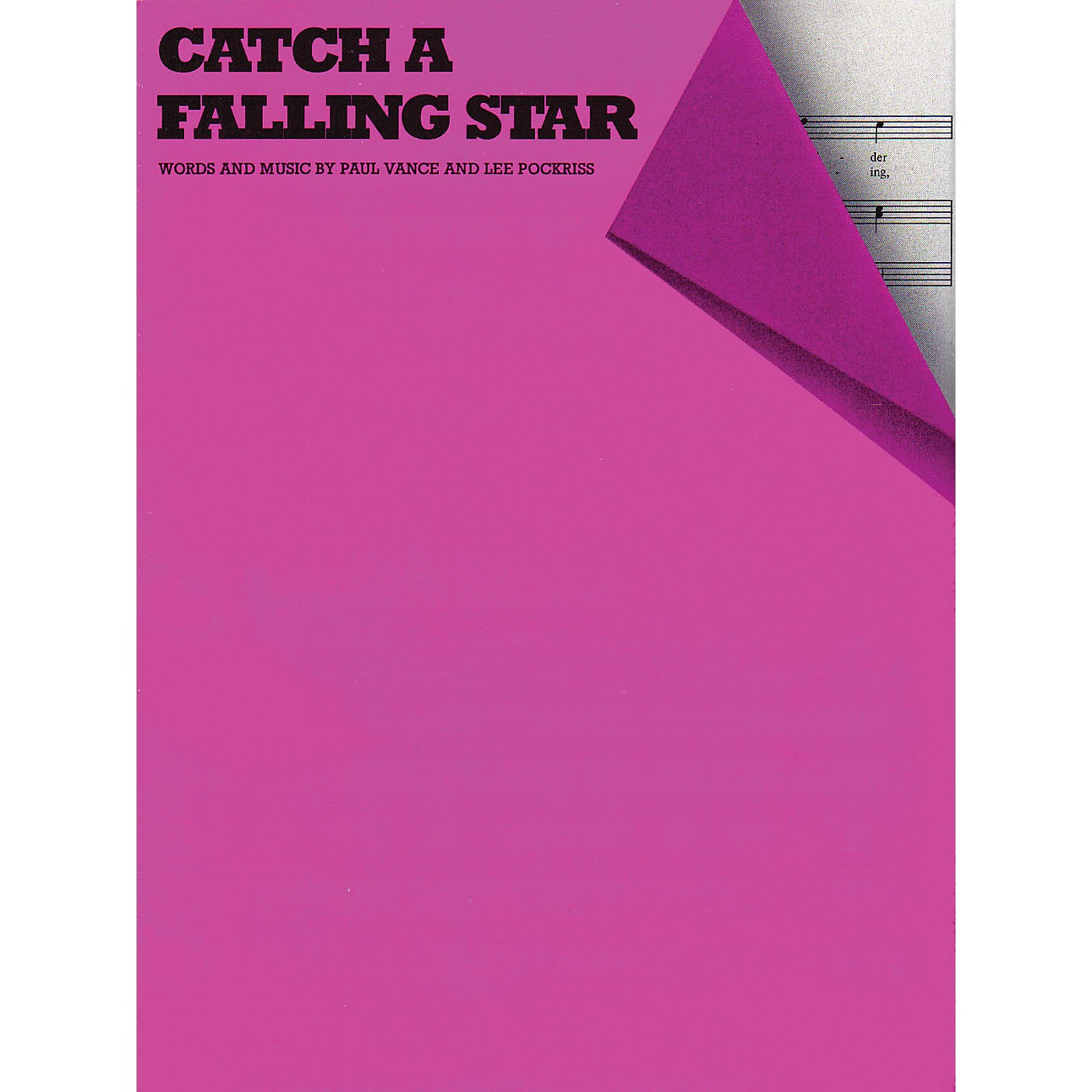 Music Sales Catch a Falling Star Music Sales America Series thumbnail