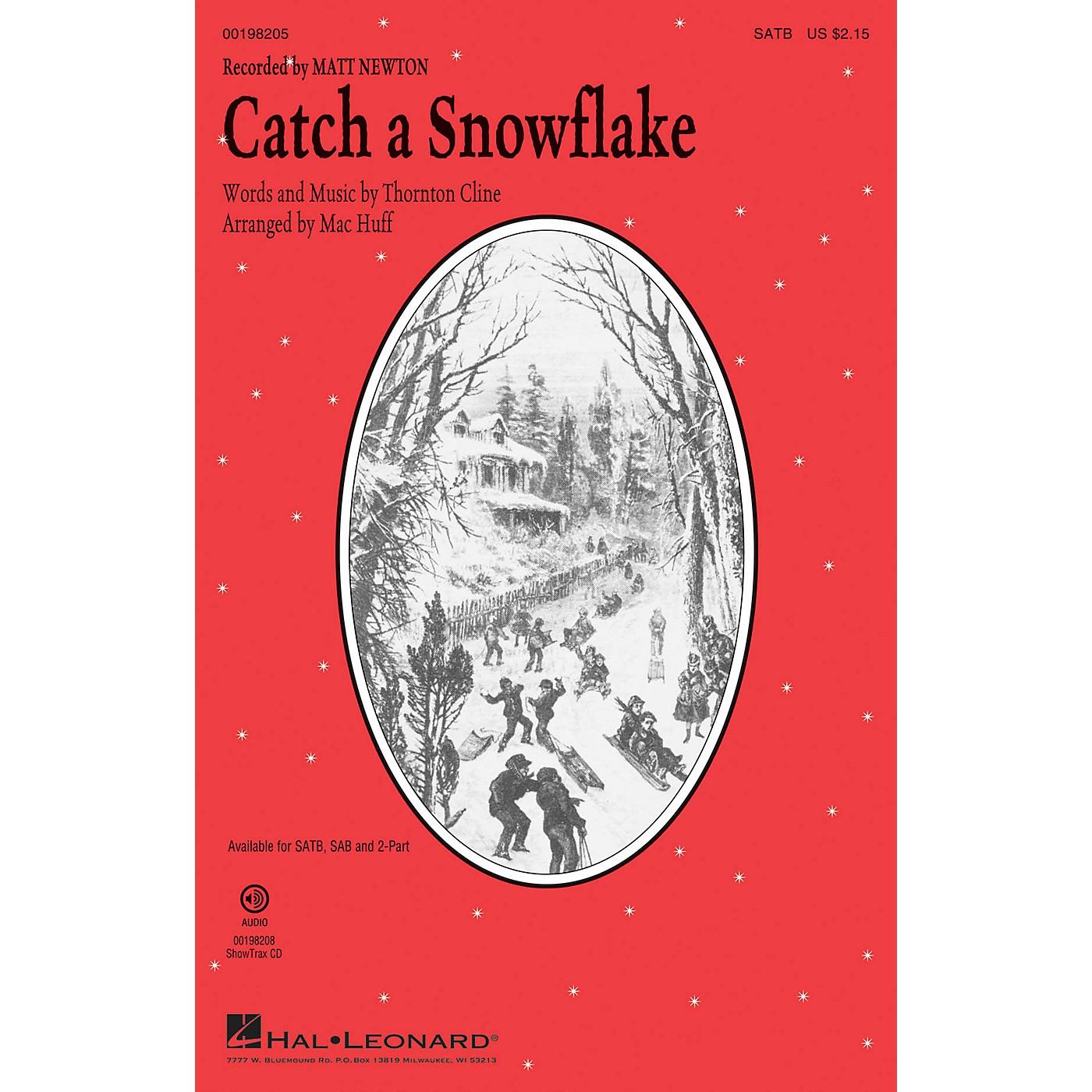 Hal Leonard Catch a Snowflake SAB by Matt Newton Arranged by Mac Huff thumbnail
