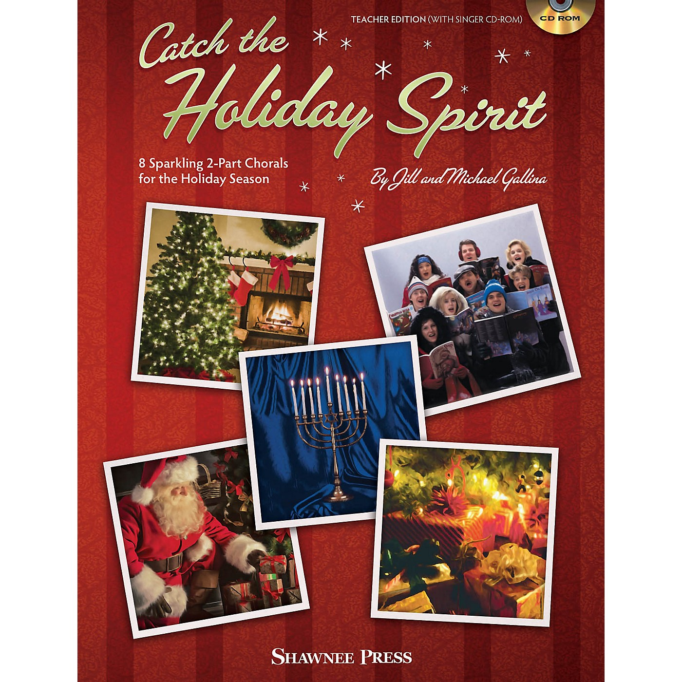 Shawnee Press Catch the Holiday Spirit Performance/Accompaniment CD Composed by Jill Gallina thumbnail