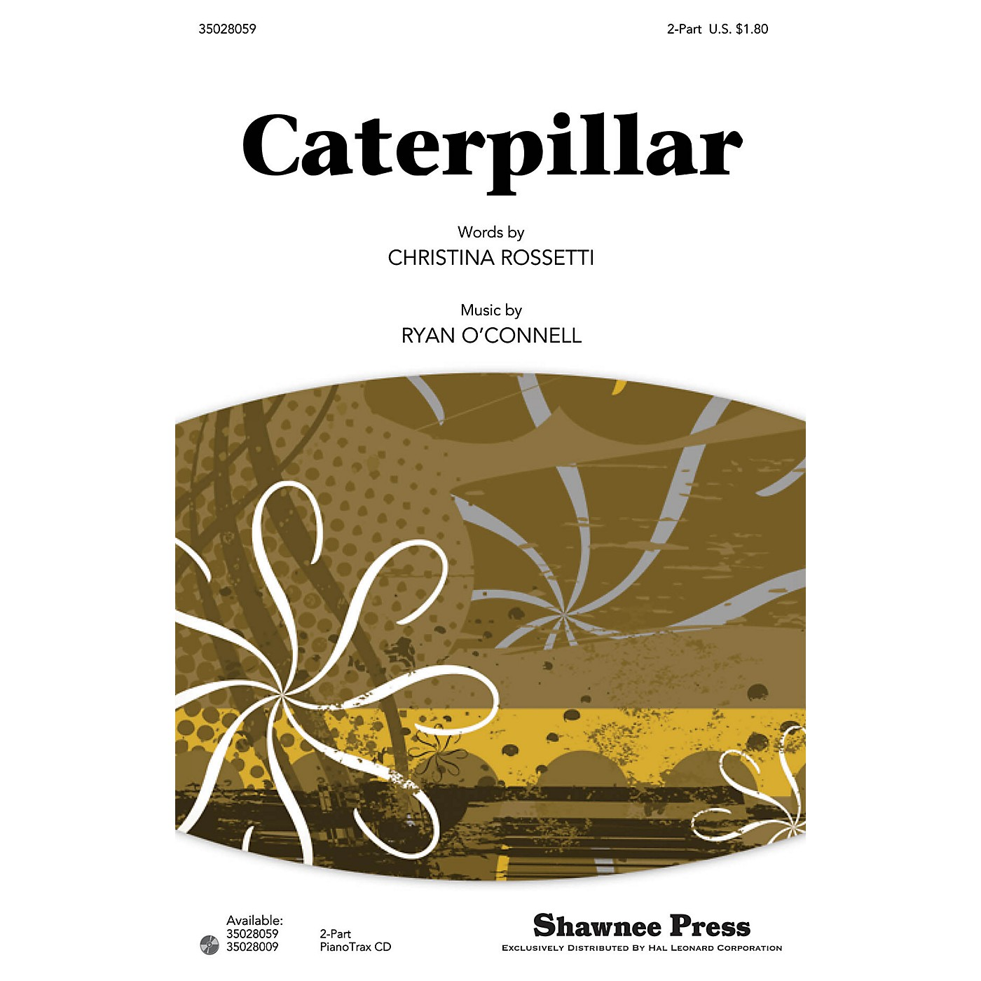 Shawnee Press Caterpillar 2-Part composed by Ryan O'Connell thumbnail